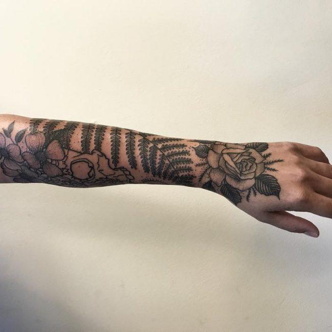 Nature Tattoo 107