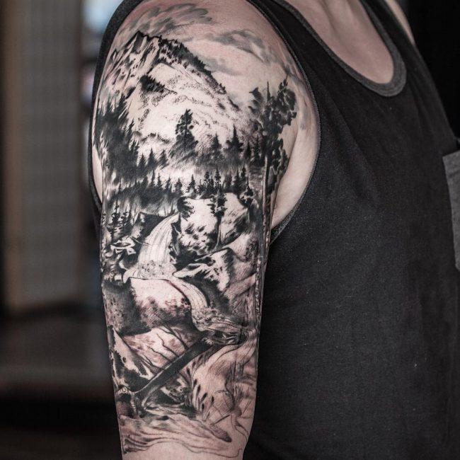 Nature Tattoo 108