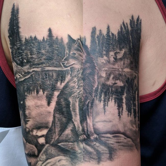 Nature Tattoo 113