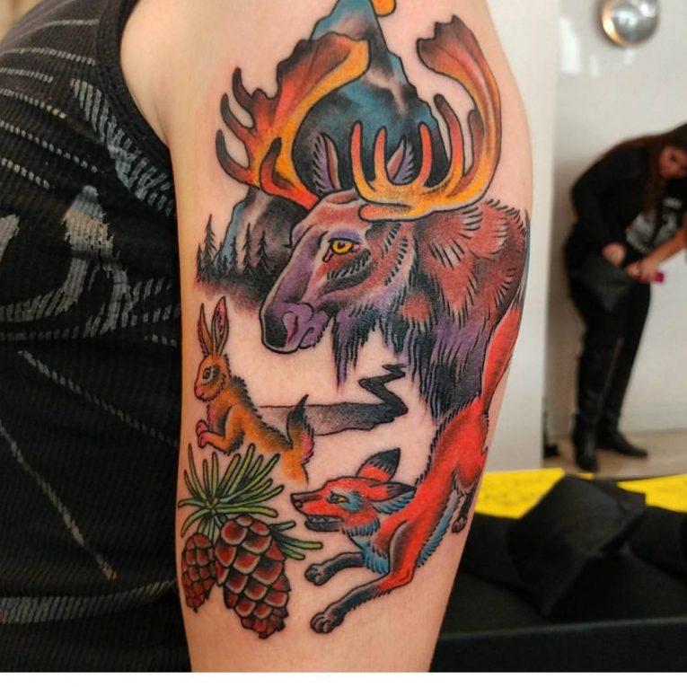 Nature Tattoo 118
