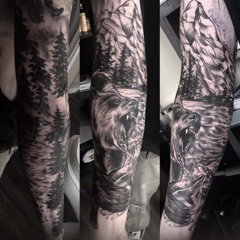 Nature Tattoo 122