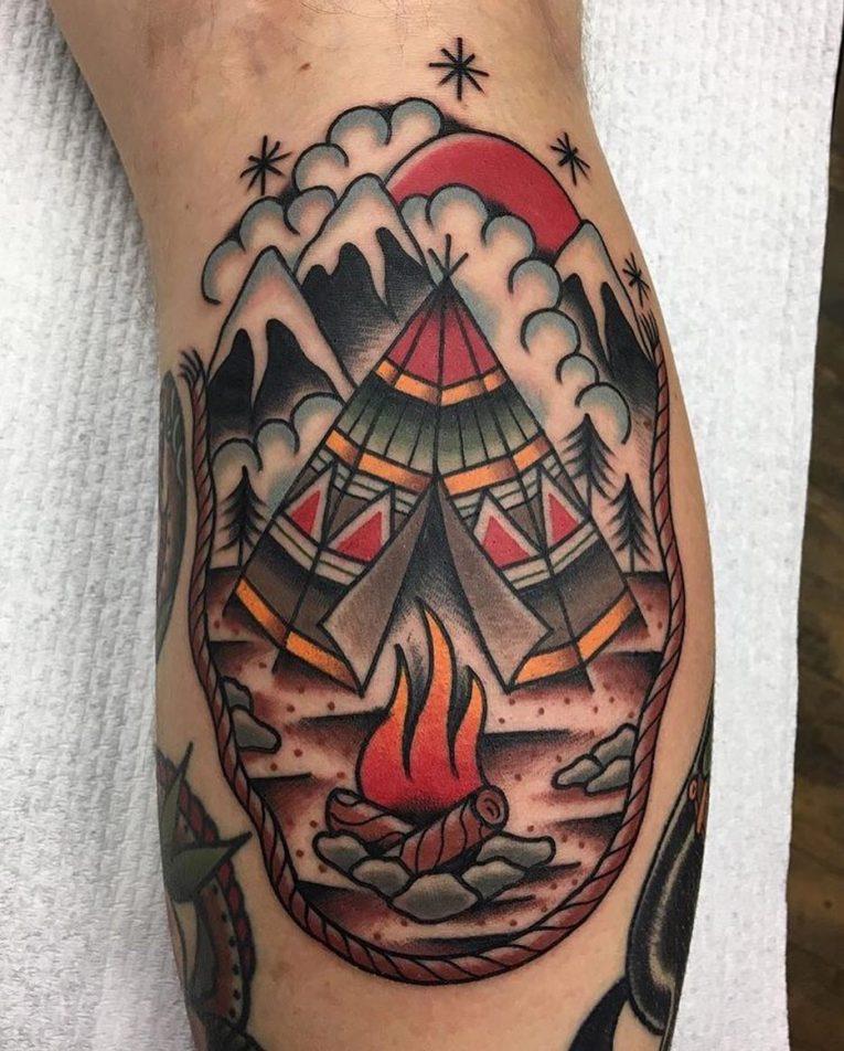 Nature Tattoo 124