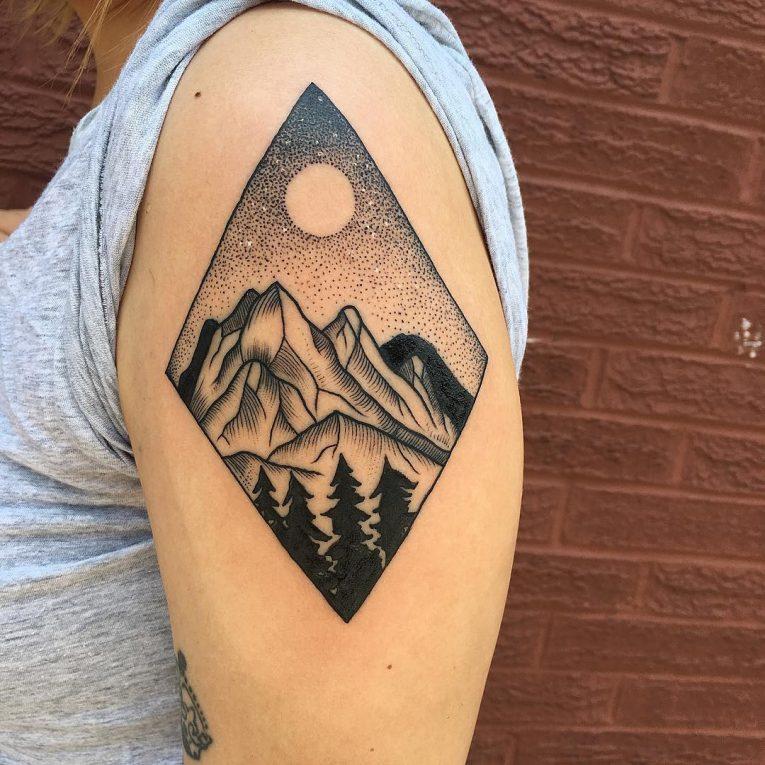 Nature Tattoo 127