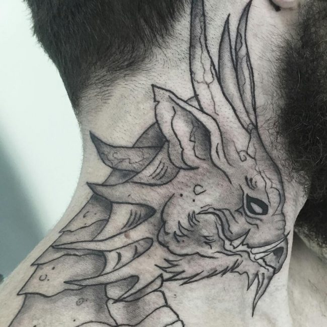 125 Top Neck Tattoo Designs This Year: 75+ Best Neck Tattoos For Men And Women