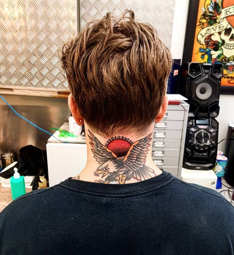 Neck Tattoo 67