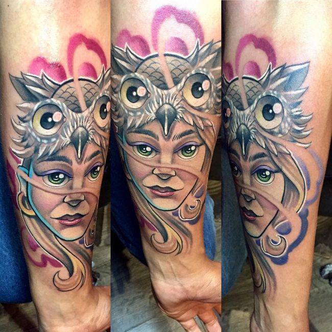 New School Tattoo 32