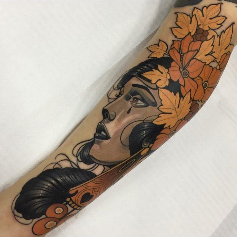 New School Tattoo 51