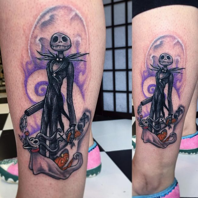 Nightmare Before Christmas Tattoo 61
