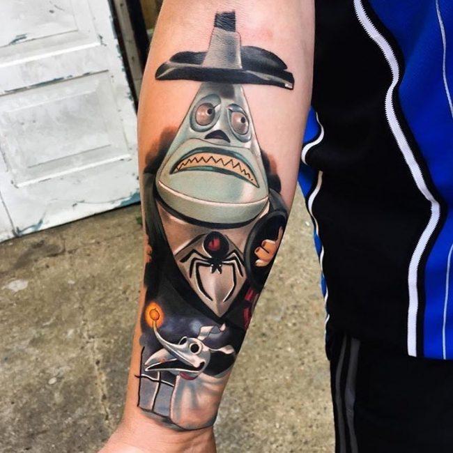 Nightmare Before Christmas Tattoo 62