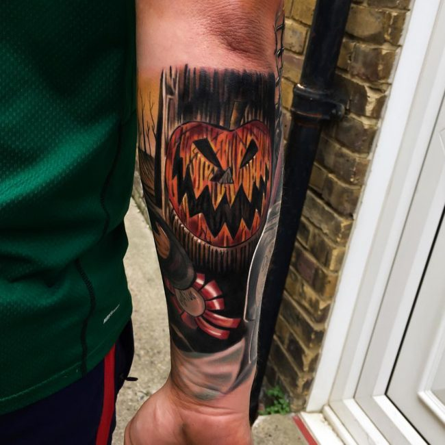 Nightmare Before Christmas Tattoo 64