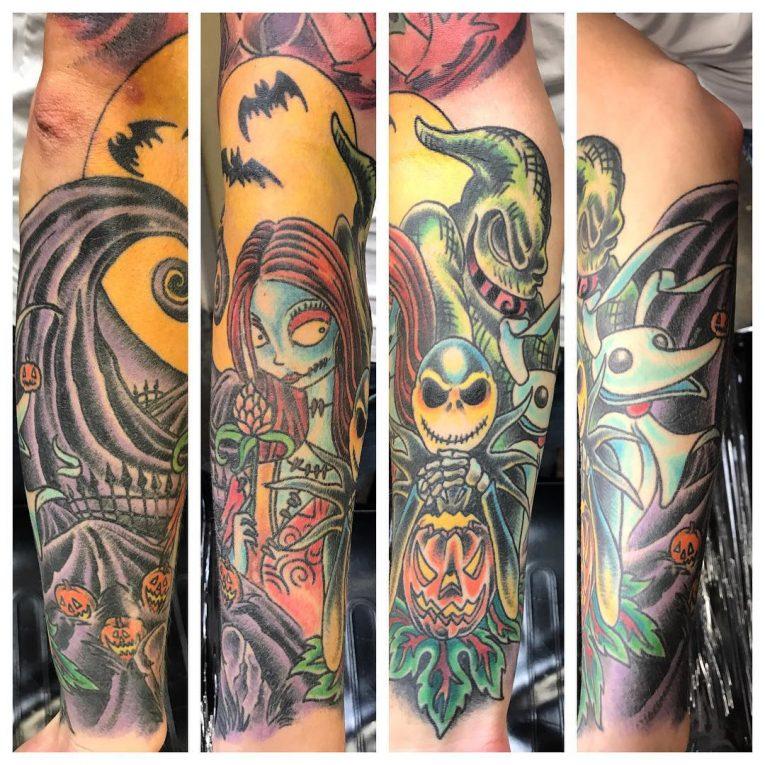 Nightmare Before Christmas Tattoo 69