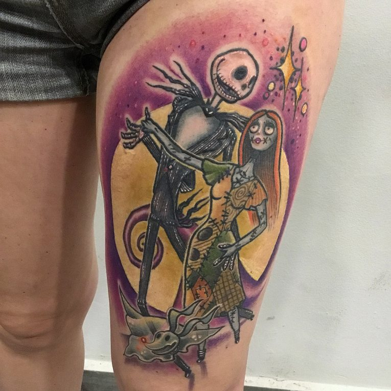 Nightmare Before Christmas Tattoo 70