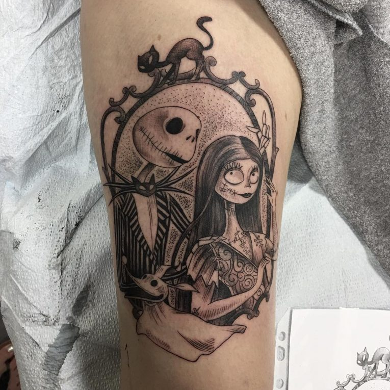 Nightmare Before Christmas Tattoo 73