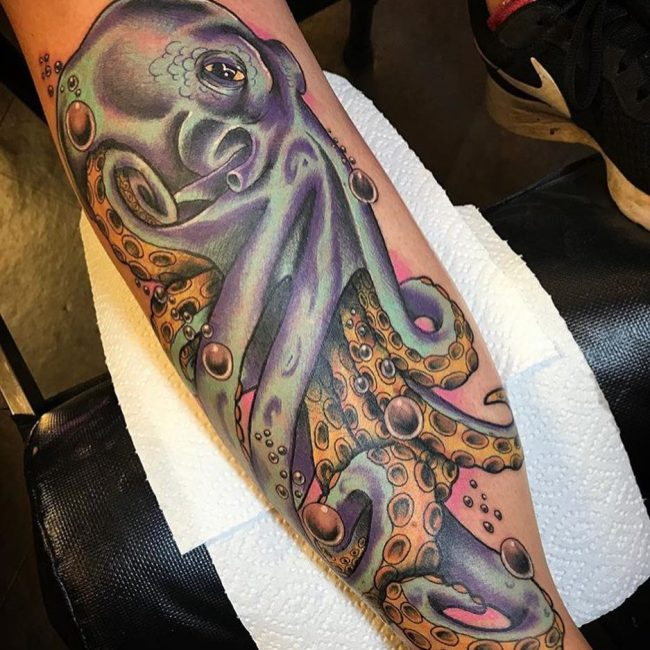 Octopus Tattoo 106