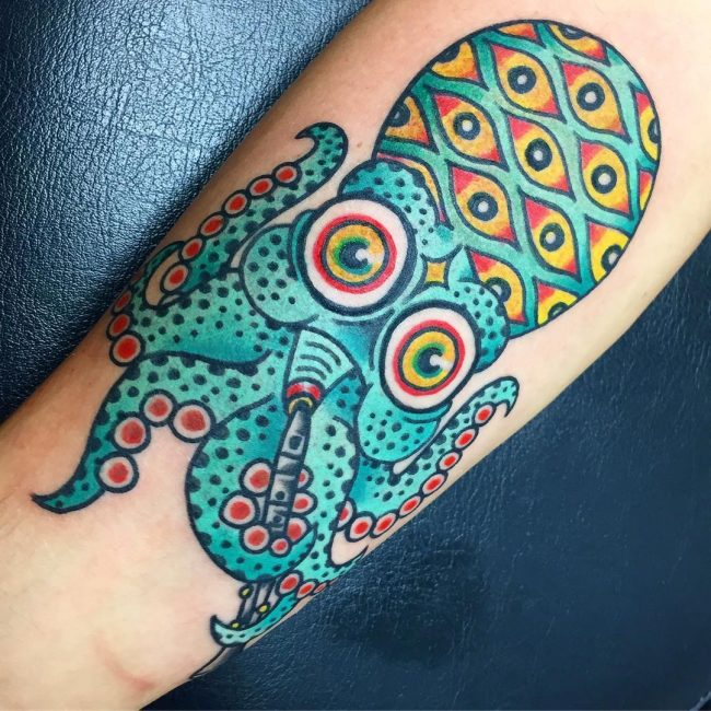Octopus Tattoo 110