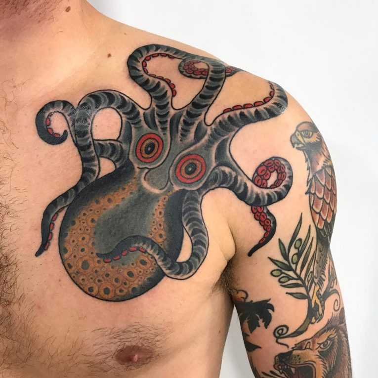 Octopus Tattoo 118
