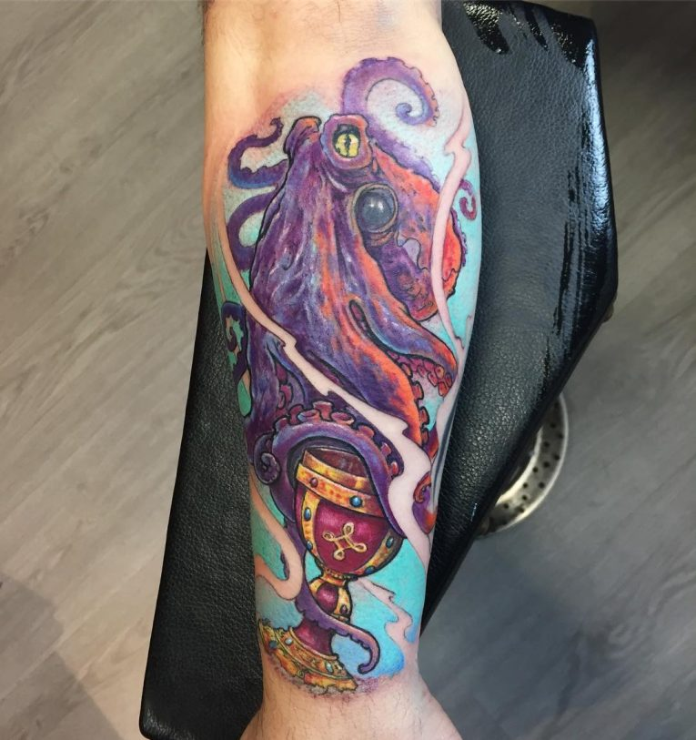 Octopus Tattoo 122