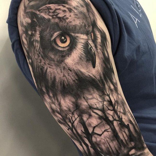 Owl Tattoo 77