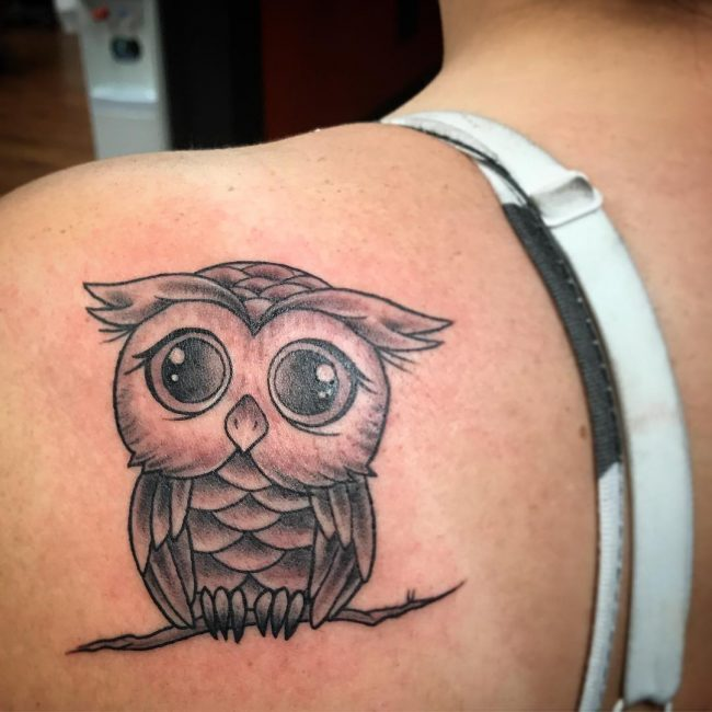 Owl Tattoo 79