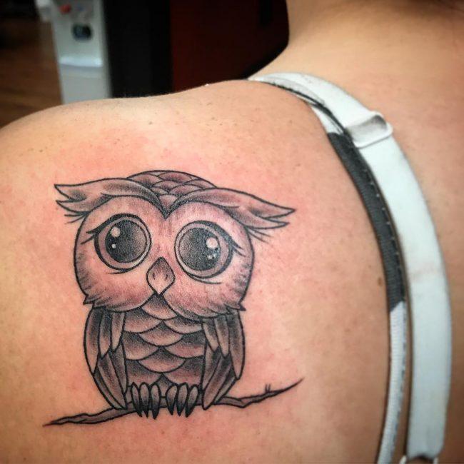Owl Tattoo 79