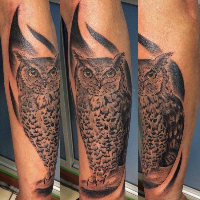 Owl Tattoo 80