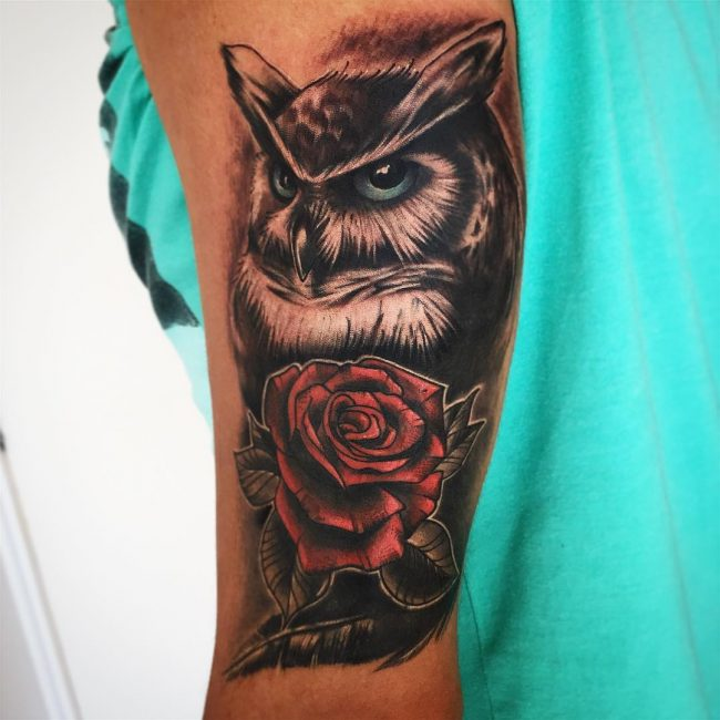 Owl Tattoo 83