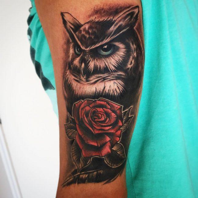 Owl Tattoo 83