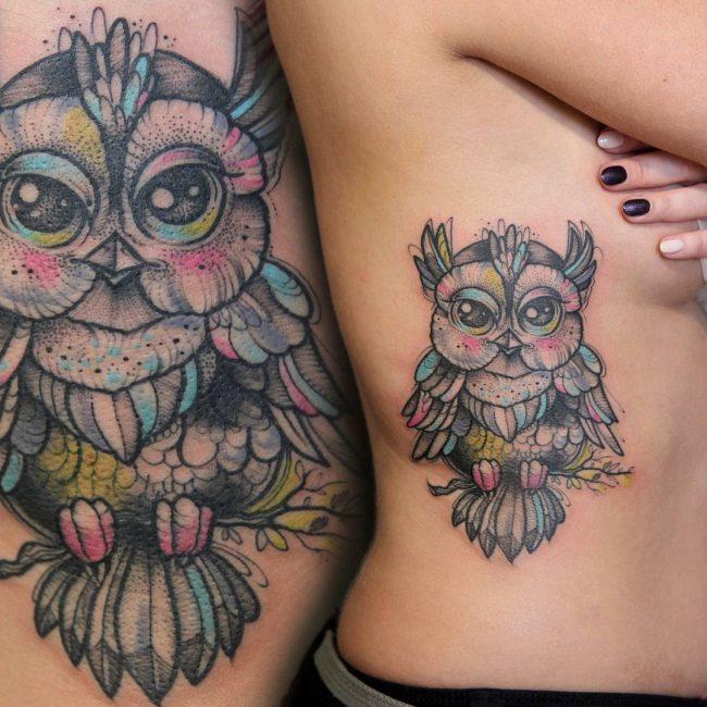 Owl Tattoo 84