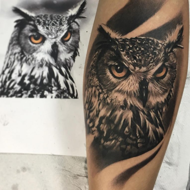 Owl Tattoo 87
