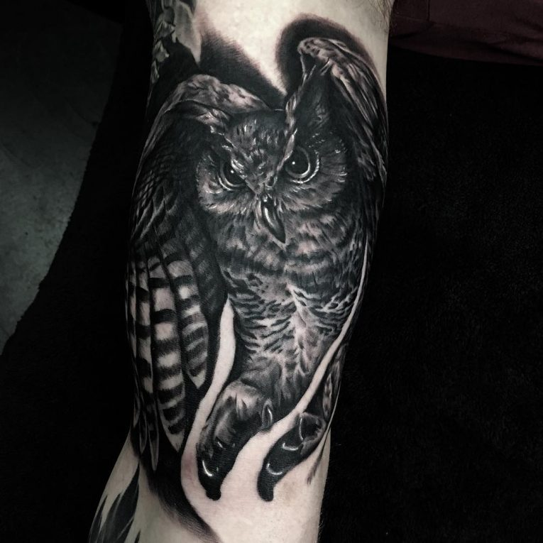 Owl Tattoo 88