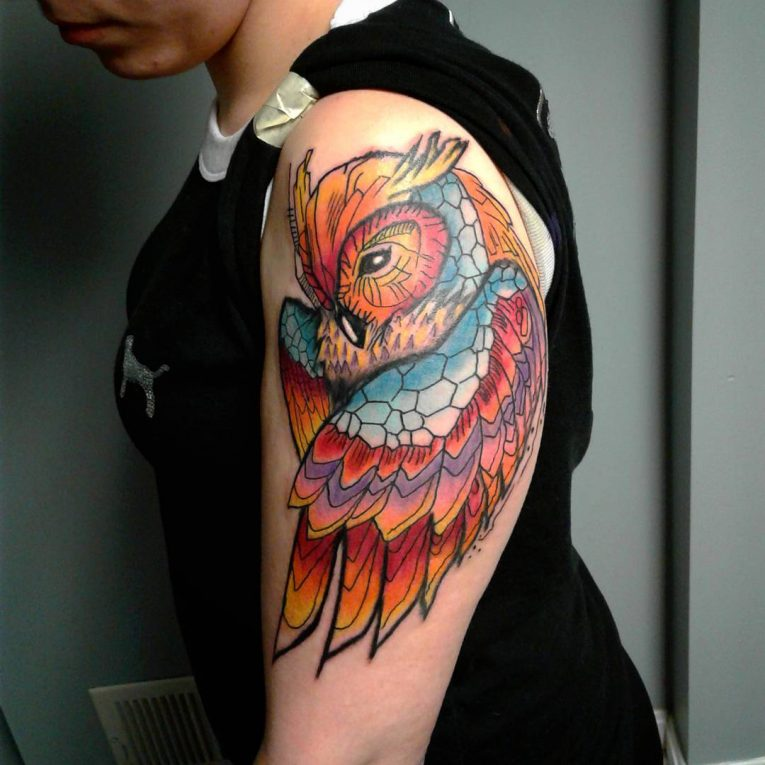 Owl Tattoo 89