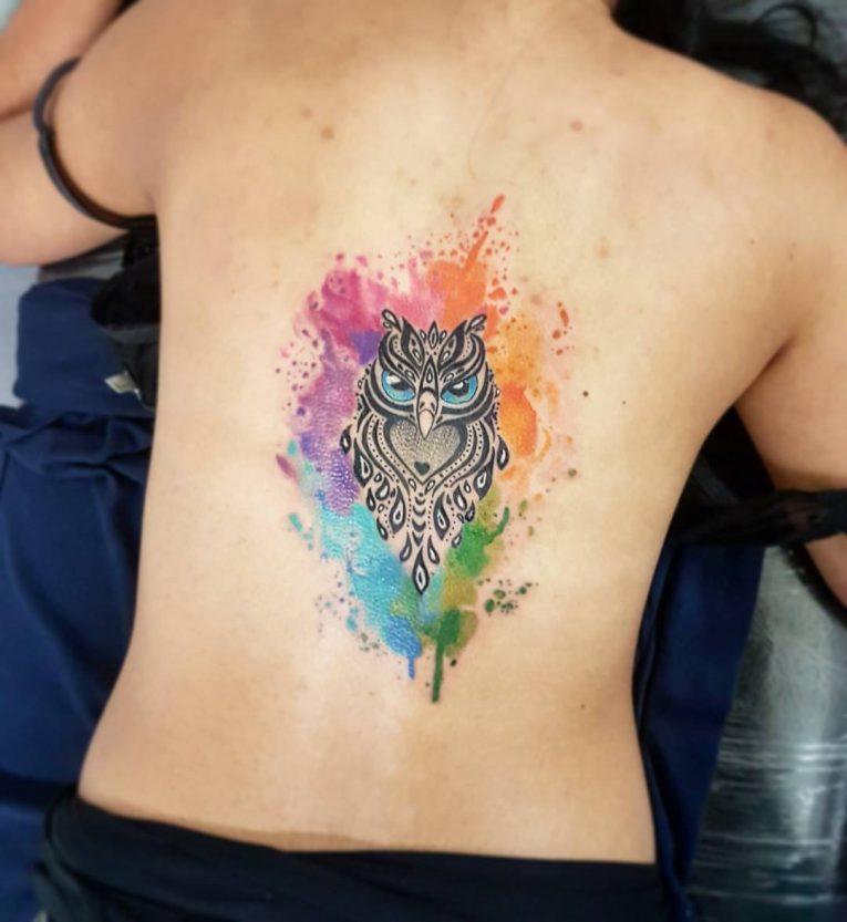Owl Tattoo 90