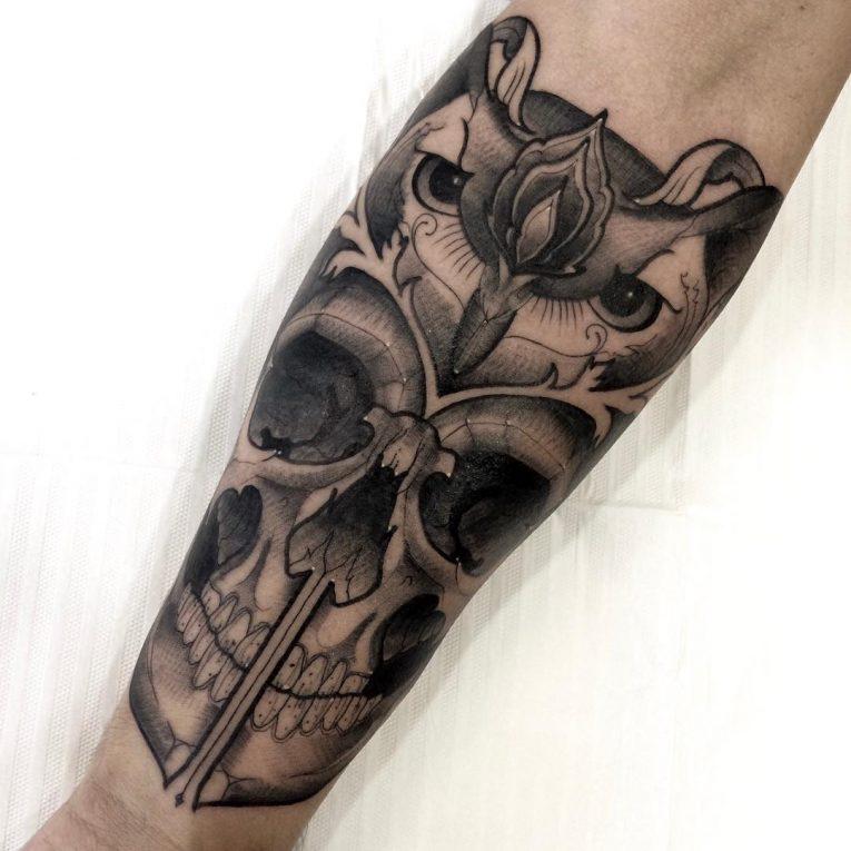 Owl Tattoo 91