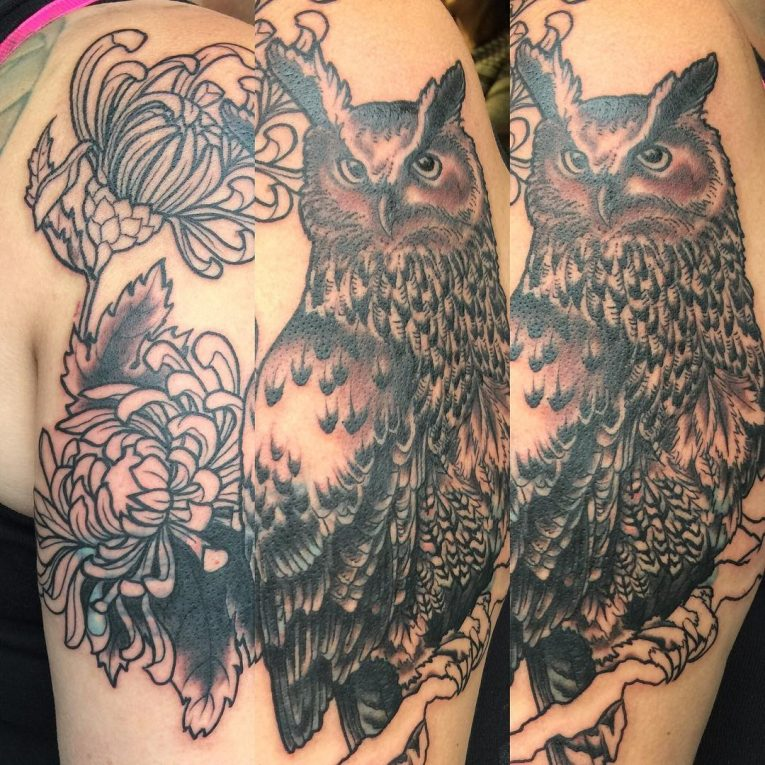Owl Tattoo 93