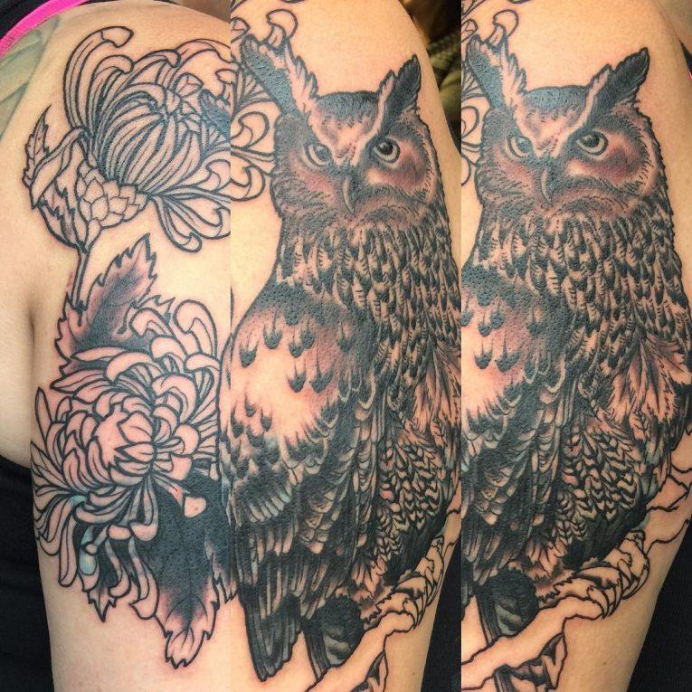 Owl Tattoo 93