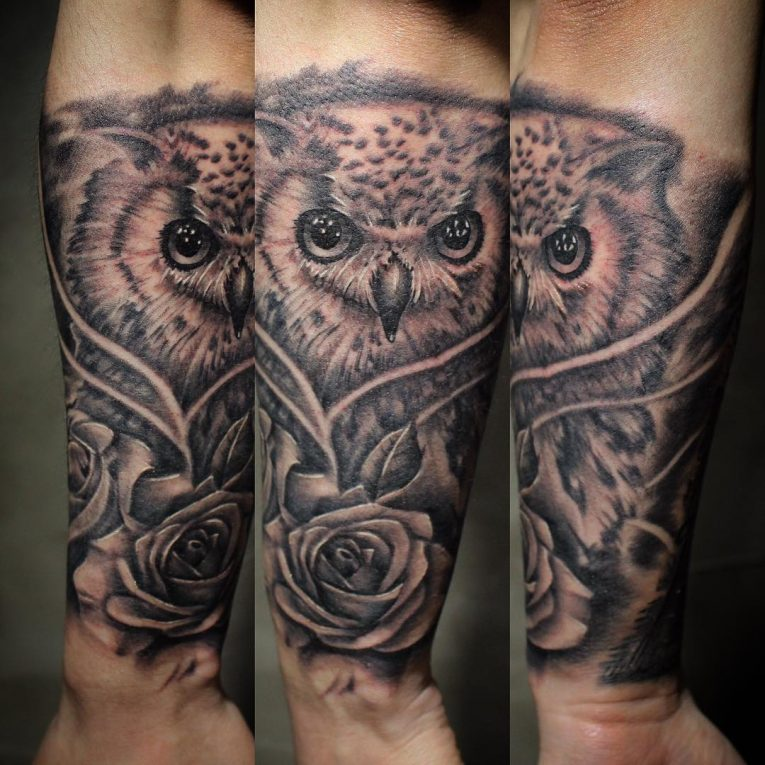 Owl Tattoo 94