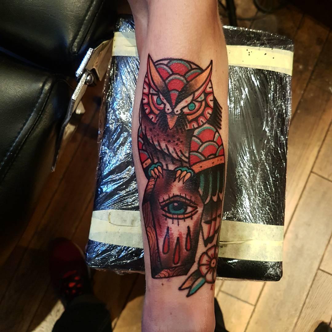 Tattoo Quotes Wisdom: 95+ Best Photos Of Owl Tattoos