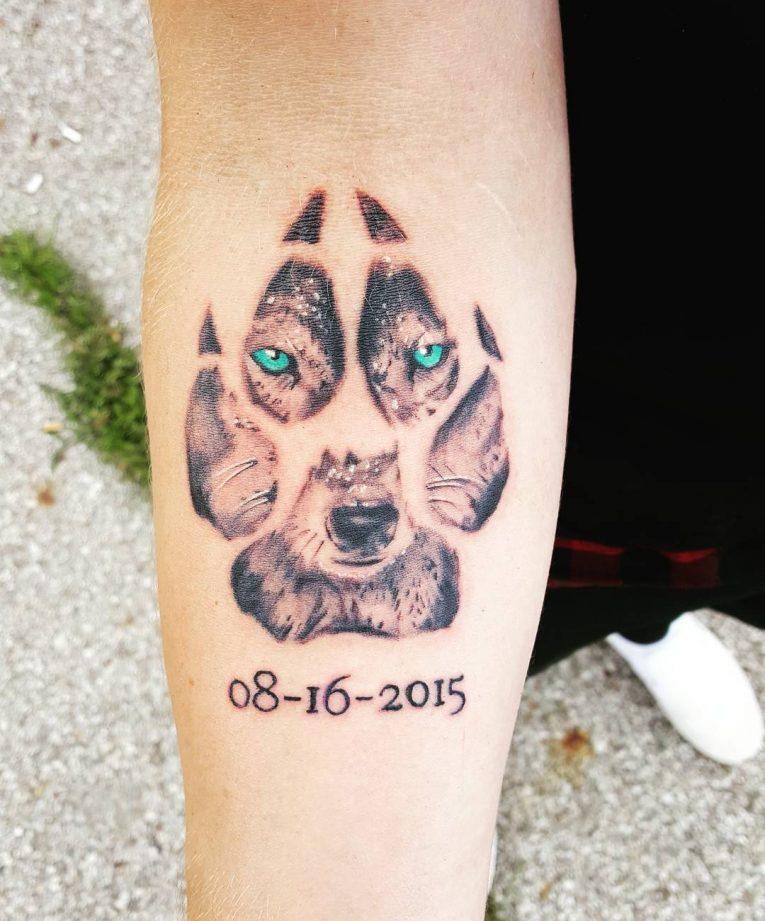 Paw Print Tattoo 82
