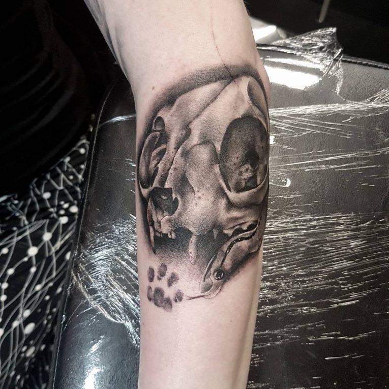Paw Print Tattoo 83