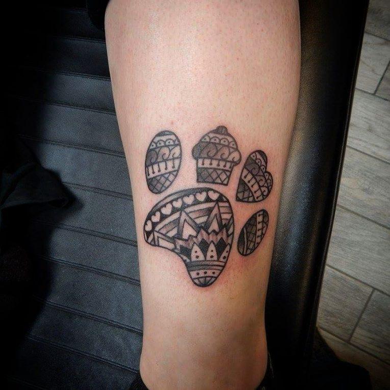 Paw Print Tattoo 86