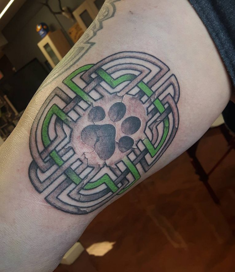 Paw Print Tattoo 91