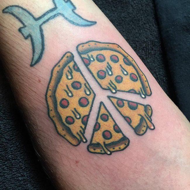 Peace Sign Tattoo 41