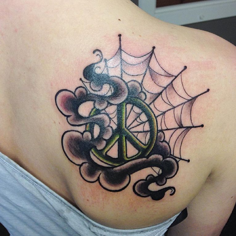 Peace Sign Tattoo 52