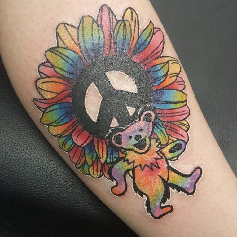 Peace Sign Tattoo 54