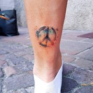 Peace Sign Tattoo 55
