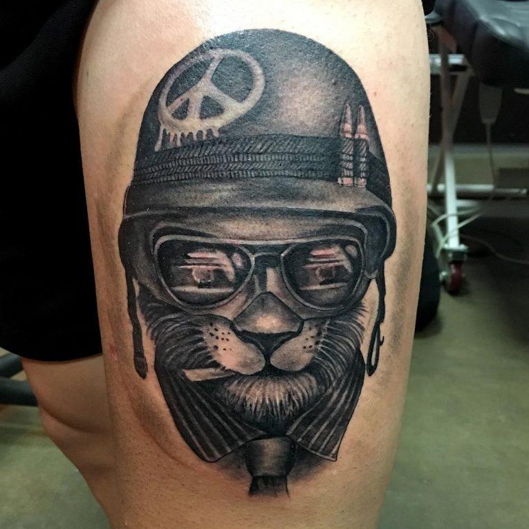Peace Sign Tattoo 56