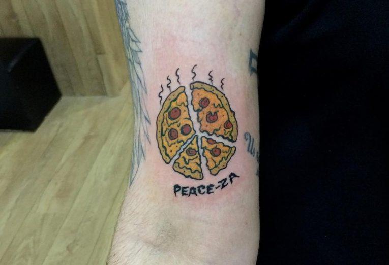 Peace Sign Tattoo 57