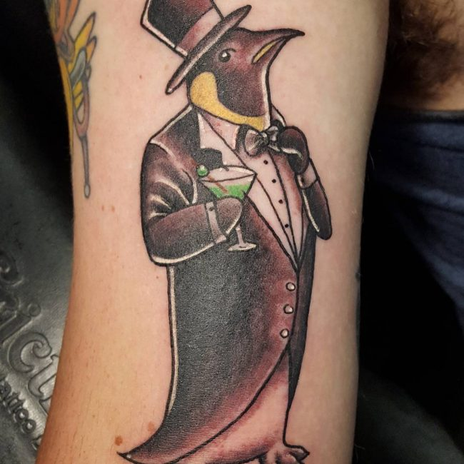 Penguin Tattoo 58