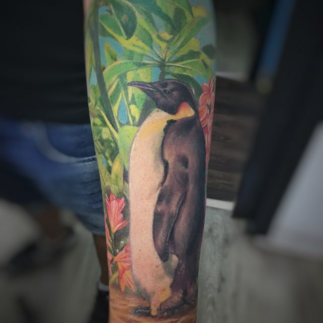 Penguin Tattoo 60