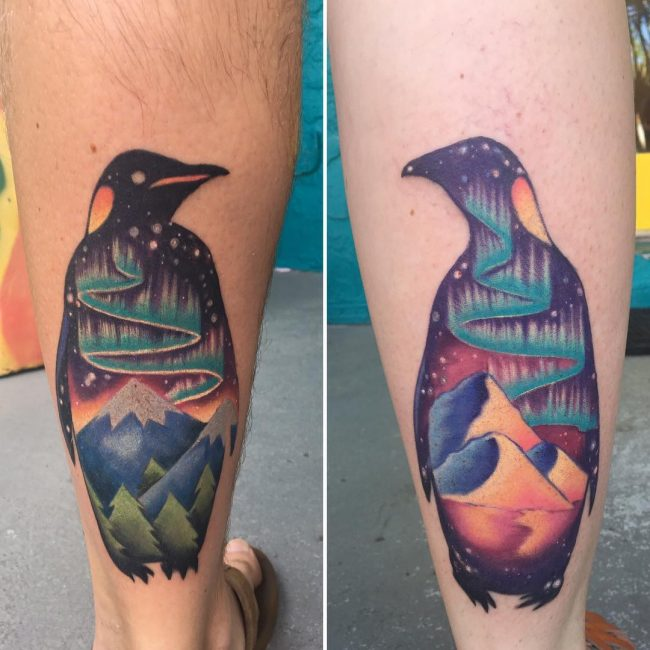 Penguin Tattoo 61